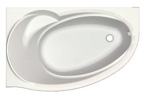 Ванна акриловая Aquatek Бетта левая 150х95 см