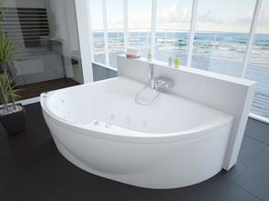 Ванна акриловая Aquatek Альтаир левая 160х120 см