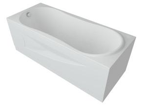 Ванна акриловая Aquatek Афродита 170х70 см